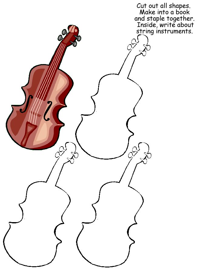 Orchestra Lapbook - for all sections.  Great for sub plans