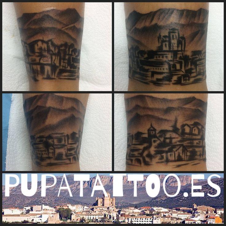 https://flic.kr/p/PMwn1x | Tatuaje Ciudad de Huesca Pupa Tattoo Granada | nstagram : instagram.com/pupa_tattoo/  Web: www.pupatattoo.es/  Citas: 958221280  #tattoo #tattoos #tatuaje #tatuajes #tattoogranada #ink #inked #inkaddict #timetattoo #tattooart #tattooartists