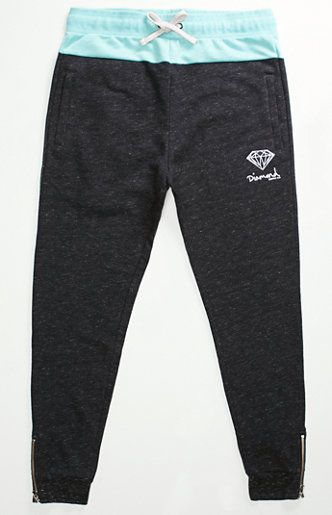 Diamond Supply Co Pavilion OG Script Fleece Jogger Pants