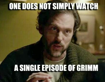 Me encantan de series de programa de Grimm.