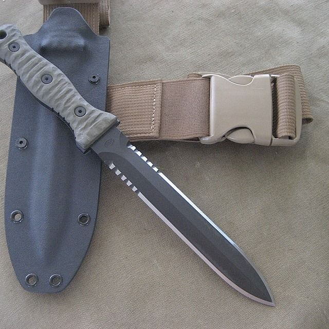 Miller Bros Blades Custom Dagger Amp Sheath Combat Knives