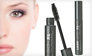 Groupon - $19 for Two Tubes of Fusion Beauty LashFusion XL Instant Volumizer Black Mascara ($48 List Price). Free Shipping. in Online Deal. Groupon deal price: $19.00