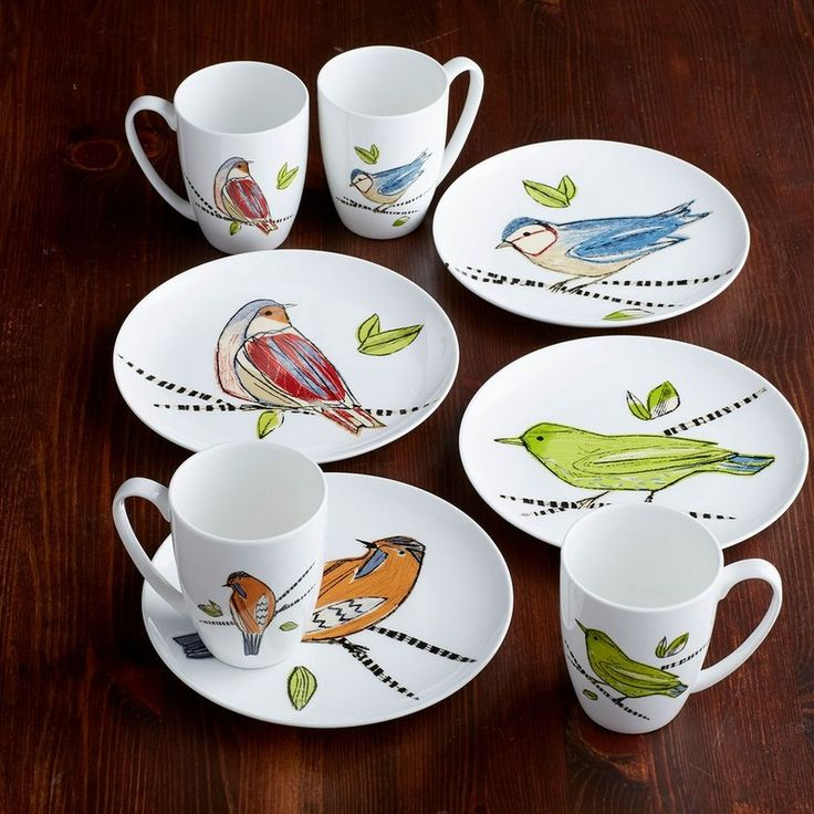 Song Bird Bone China Collection