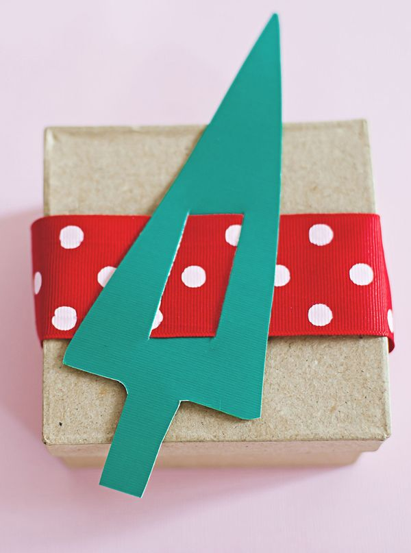 Paper Tree Advent Countdown