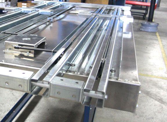 Cargo Slide Platform Slide Bedslidebottom Shot Of The
