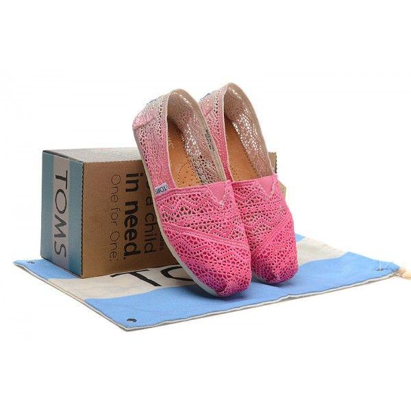 W-shaped Asymptotic Rosy Crochet Womens Classics
