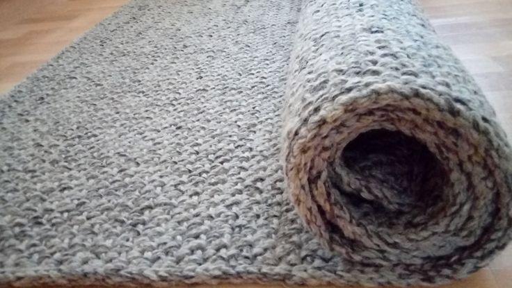 Crochet Square Rug/Rectangular Rug 150 cm/200 cm/Crochet Rug/Rugs/Rug/Area Rugs/Floor Rugs/Large Rugs/Handmade Rug/Carpet/Wool Rug by AnuszkaDesign on Etsy