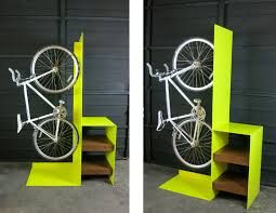creative bike storage in small apartment - Google Search