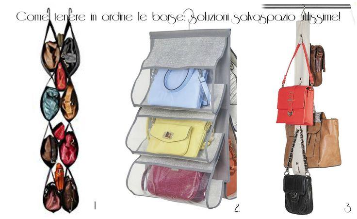 Come sistemare le borse | UnaDonna