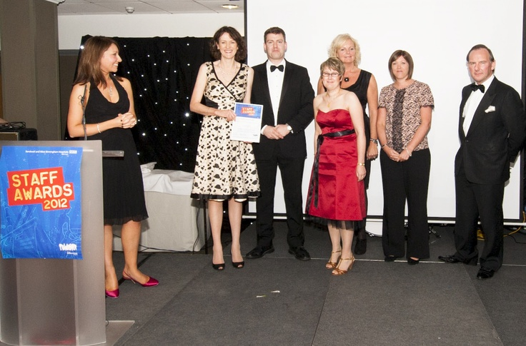 #SWBHawards Listening into Action Award for Engagement sponsored by Ideal for All highly commended - The Inflammatory Bowel Disease Service Team