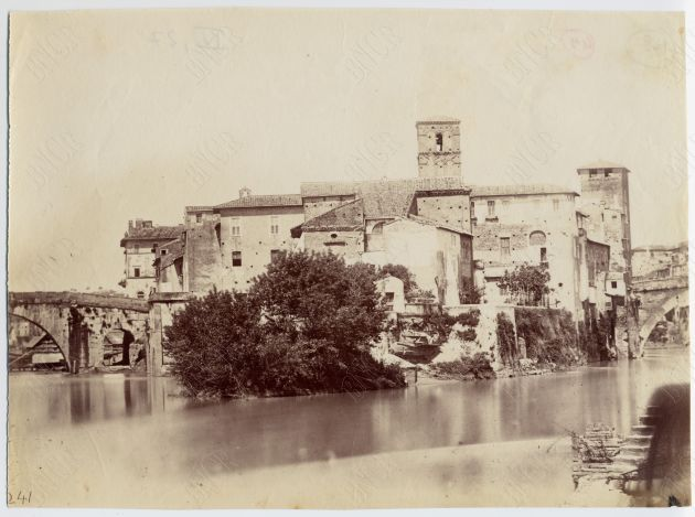 Isola Tiberina 1855