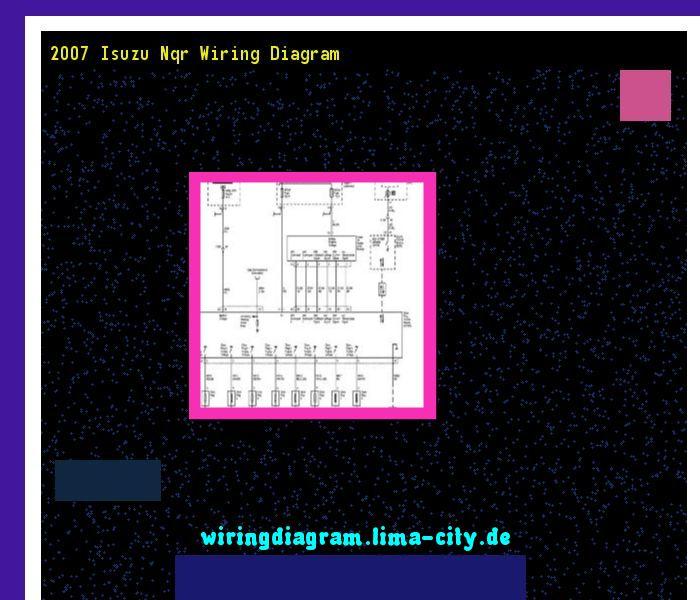 2007 Isuzu Nqr Wiring Diagram  Wiring Diagram 17512
