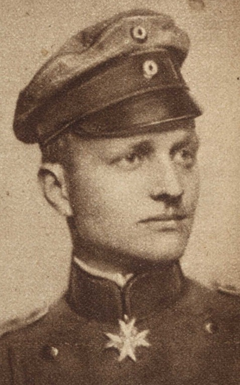 """Manfred Albrecht Freiherr von Richthofen (May 2, 1892 – April 21, 1918)                             Baron Von Richthofen is best known as """"The Red Baron"""", a German  fighter pilot with the Imperial German Army Air Service during World   War I. He is considered the top ace of that war, being officially  credited with 80 air combat victories, more than any other pilot.    He remains quite possibly the most widely-known fighter pilot of all   time, and has been the subject of many books and…"""