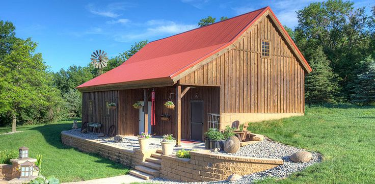 Ponderosa Country Barn Project Hgr610 Pole Barn Designs