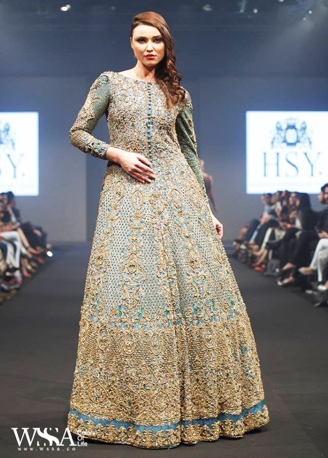 HSY New Bridal Collection 2017 Wedding Lehenga and Maxi Dresses | BestStylo.com