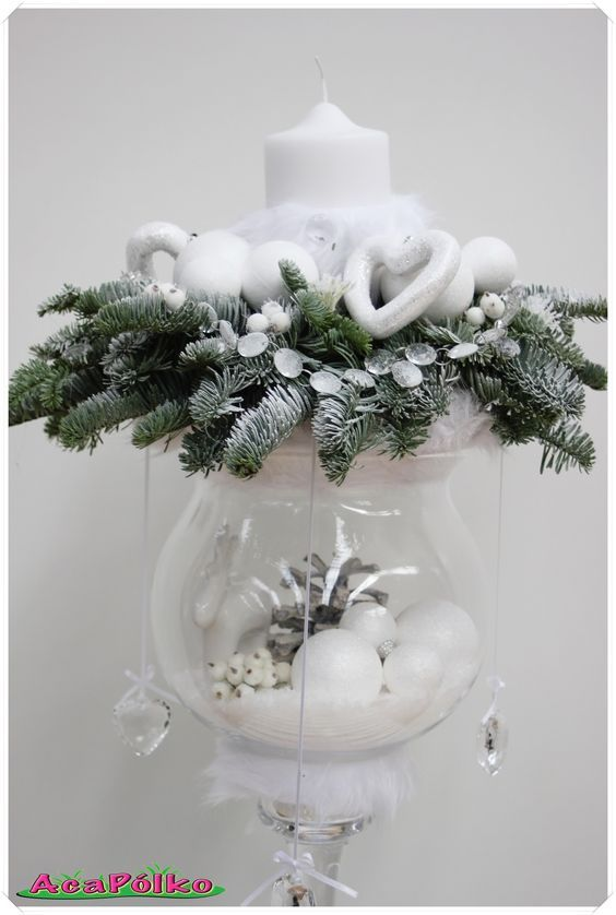 """""""Estoy soñando con una Navidad blanca"""" ... 8 gran escandinavo inspiró ideas de decoración en blanco! - ideas del arte DIY"""