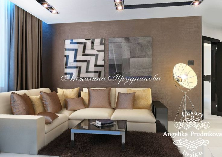 Интерьер квартиры в современном стиле на Ленинградском шоссе - фото