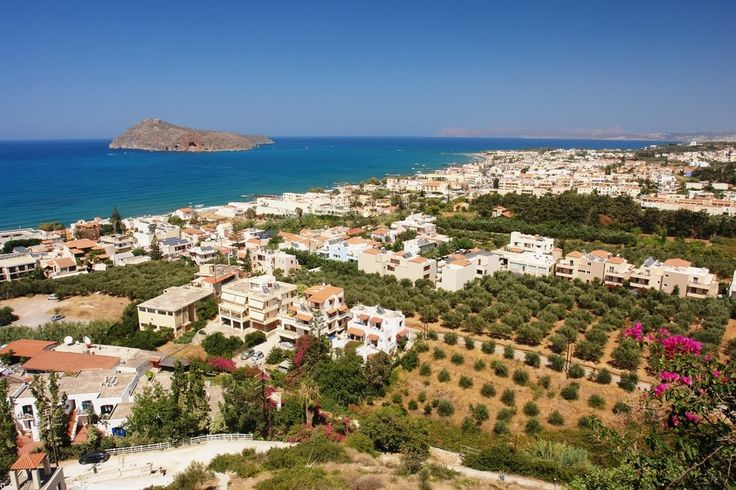 Platanias - the seat of the homonymous municipality, a village built on a hill, at a location that has been inhabited since antiquity.  #Greece #Crete #Chania #Terrabook #GreekIslands #Travel #GreeceTravel #GreecePhotografy #GreekPhotos #Traveling #Travelling #Holiday #Summer