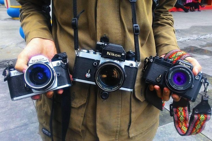 "Spotted by @sarahfauzianisa. A Nikon F2 and ""legendary made-for-portraits Nikkor P 105mm f/2.5"". Also a Nikon FM2 paired with Nikkor-H 28mm f/3.5 and its black paint counterpart paired with the Nikon Series E 50mm f/1.8. Hope you all have a great weekend shooting! #cameracult #nikon #nikonfm2 #nikonf2 #slr #filmcamera #35mmfilm #cameraporn #streetphotography #semarang #analog #shootfilm #filmisnotdead"