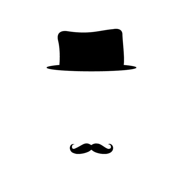 Stickers prise Moustache, Sticker Prise Fun, Stickers Moustache Prise, Autocollants Chapeau : Deco Soon