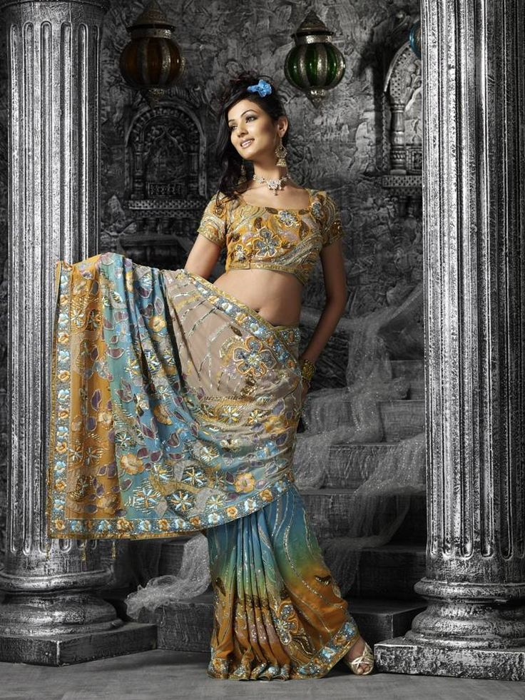 Sari : Сари 02 - Indian Sari : Индийские сари - Галерея - International Vaishnavas Portal