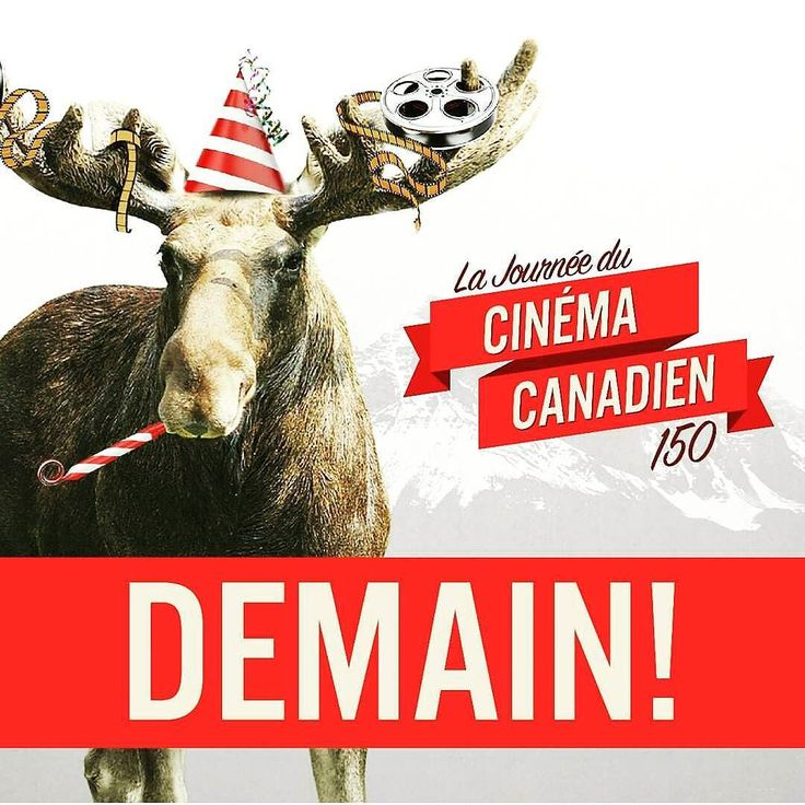 19 avril journée du cinéma canadien.  Votre film  pref'? #Canada150 #canada #moose #celebrate #cinema #canadian #canadiens #canadien #love #like #film #MovieNightsCA