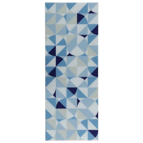 geométrico flutuante quadro sq. 50x130