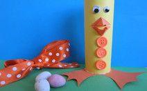 Easter chick mini egg holder