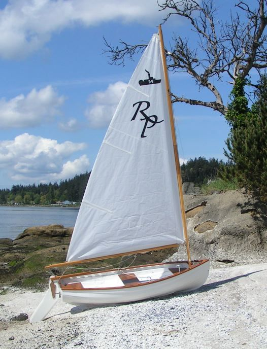 Sailing Dinghy, sail from cabin to lake Michigan destinations