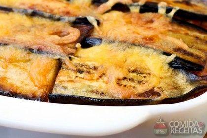 Receita de Berinjela assada simples em receitas de legumes e verduras, veja essa e outras receitas aqui!