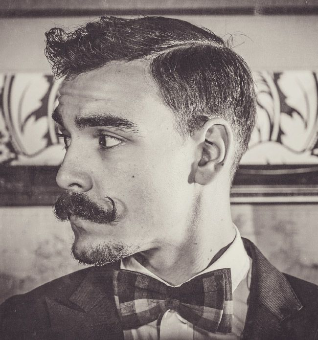 Our 1893 Moustache Wax is just the thing for you, if you're looking to keep your whiskers in line or maybe even curl your moustache.