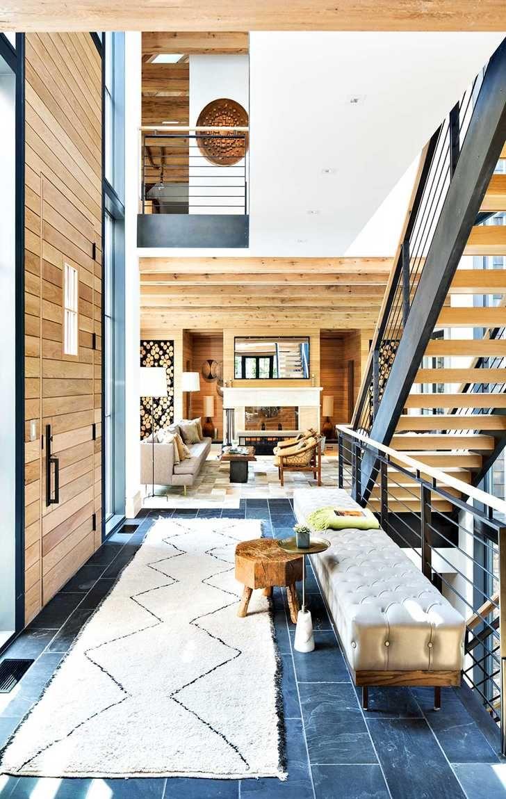 Современный стиль в роскошном исполнении интерьера квартиры в Сингапуре