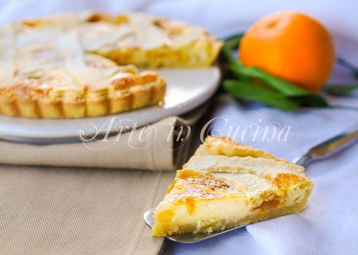 Crostata con mascarpone e marmellata di arance vickyart arte in cucina