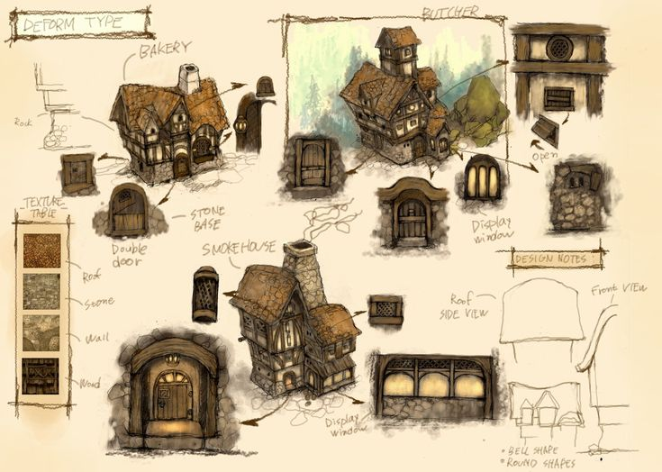 Village_concept design, Canon Lee on ArtStation at https://www.artstation.com/artwork/village_concept-design