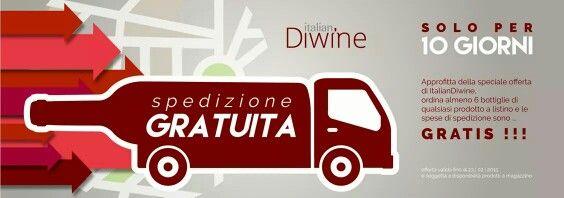 Spedizioni Gratis su www.italiandiwine.it