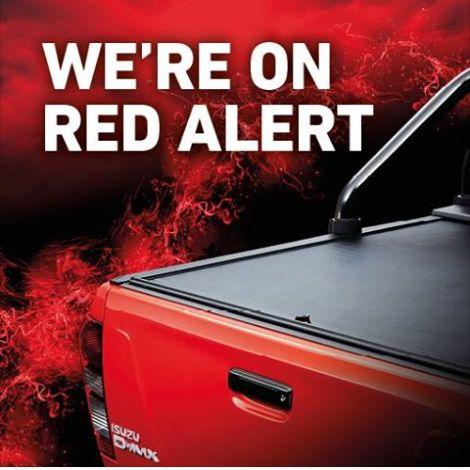 Can you feel the temperature rising? #ISUZUFURY