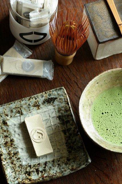 Matcha with Japanese sweets