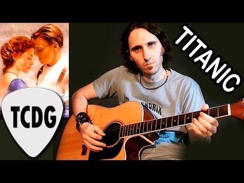 Como Tocar Titanic En Guitarra Acústica / Tutorial fácil para principiantes por Mario Freiria TCDG - YouTube