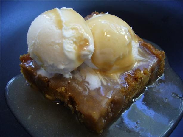 """Maple Butter Blondie Dessert (Like Applebees): """"This is as close as I could come to my favorite dessert at Applebee's."""" -startnover"""