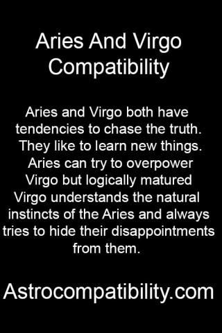 Aries and Virgo both....