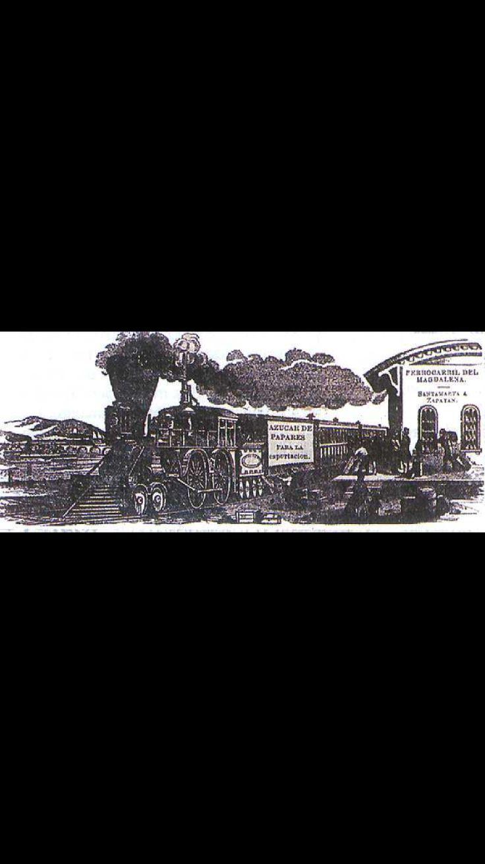 Ferrocarril de Panamá en el año 1861