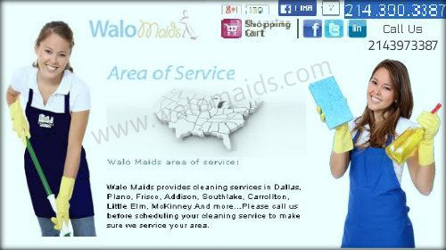 Walo Maids provides high-quality Maid cleaning services in around all areas of Dallas.We are famous for our work quality and staff behavior.Our cleaning services is affordable for everyone. Check out our webpage for more info