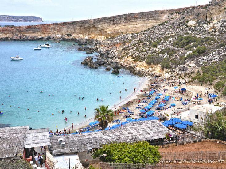 Island of Malta Island of Malta, Malta europe Trip Ideas sky Beach Sea mountain Coast Town aerial photography Nature cape Harbor shore