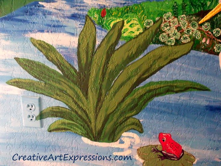 20 best images about 3rd grade backdrop on pinterest for Creative mural art
