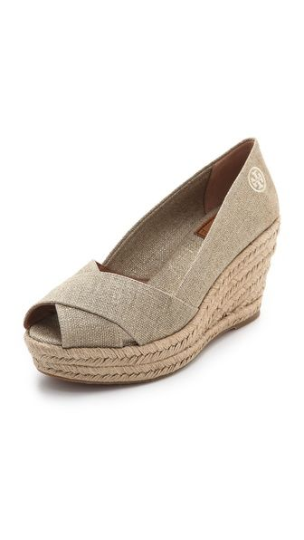 Want these Tory Burch wedges ASAP