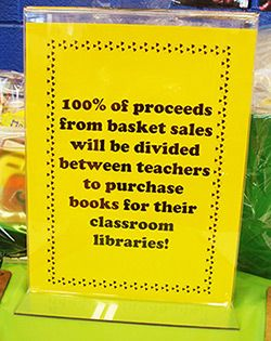 Ideas for providing books for others implementing Scholastic's All For Books program.