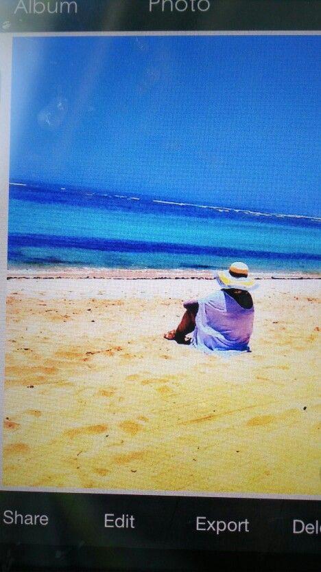 The place to escape #mengiat beach Nusa Dua Bali