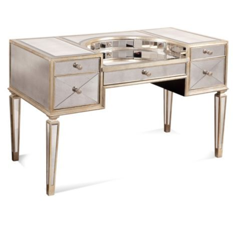 Borghese Mirrored Vanity Desk from Z Gallerie  $1,799