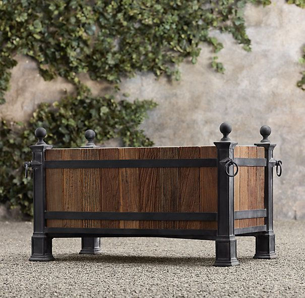 33 Best Images About Wood Planter Tree Box On Pinterest: 11 Best Trough Planters Images On Pinterest