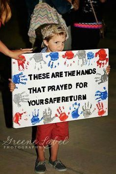 TAYLOR: Activity - These are the hands that ARE PRAYING for you.